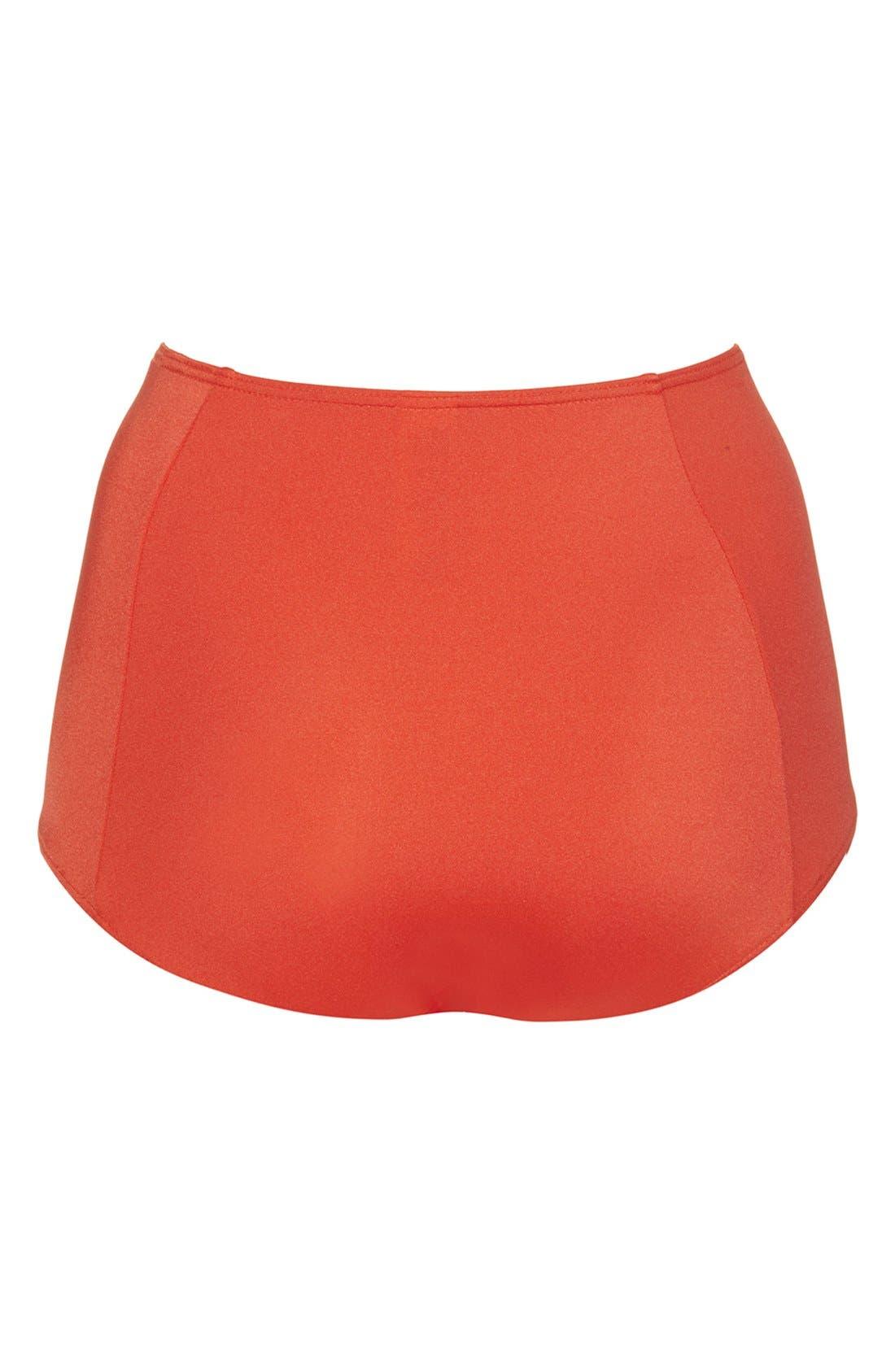 Alternate Image 2  - Topshop High Rise Bikini Bottoms