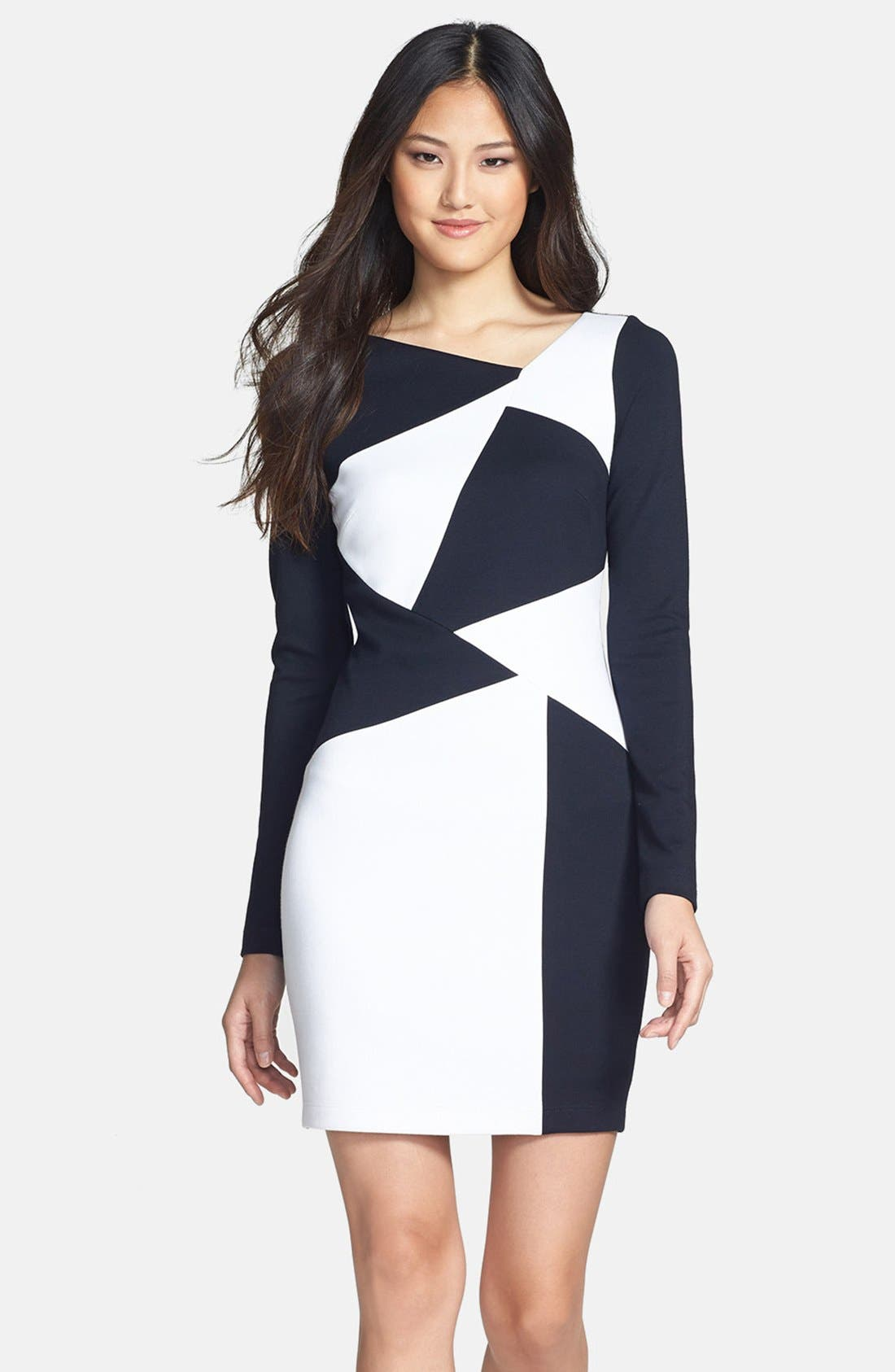 Alternate Image 1 Selected - Bailey 44 'Crashing In' Colorblock Body-Con Dress