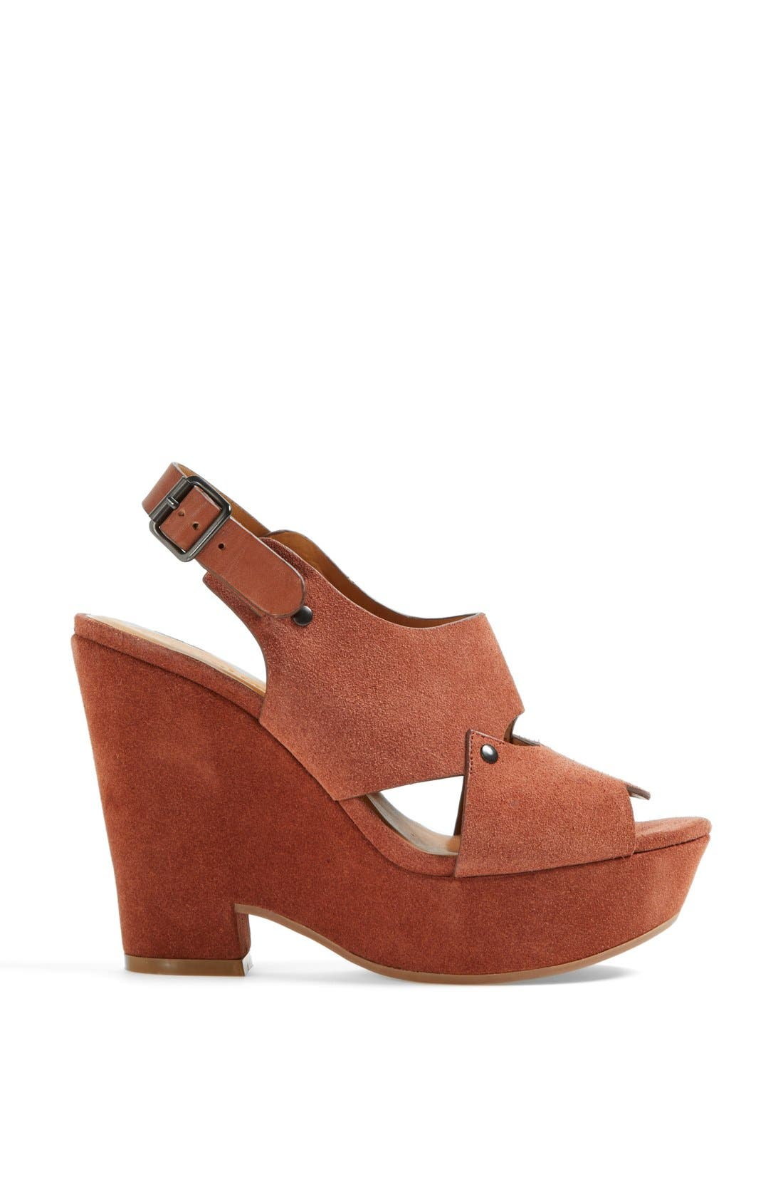Alternate Image 3  - See by Chloé 'Eva' Cutout Slingback Wedge Sandal