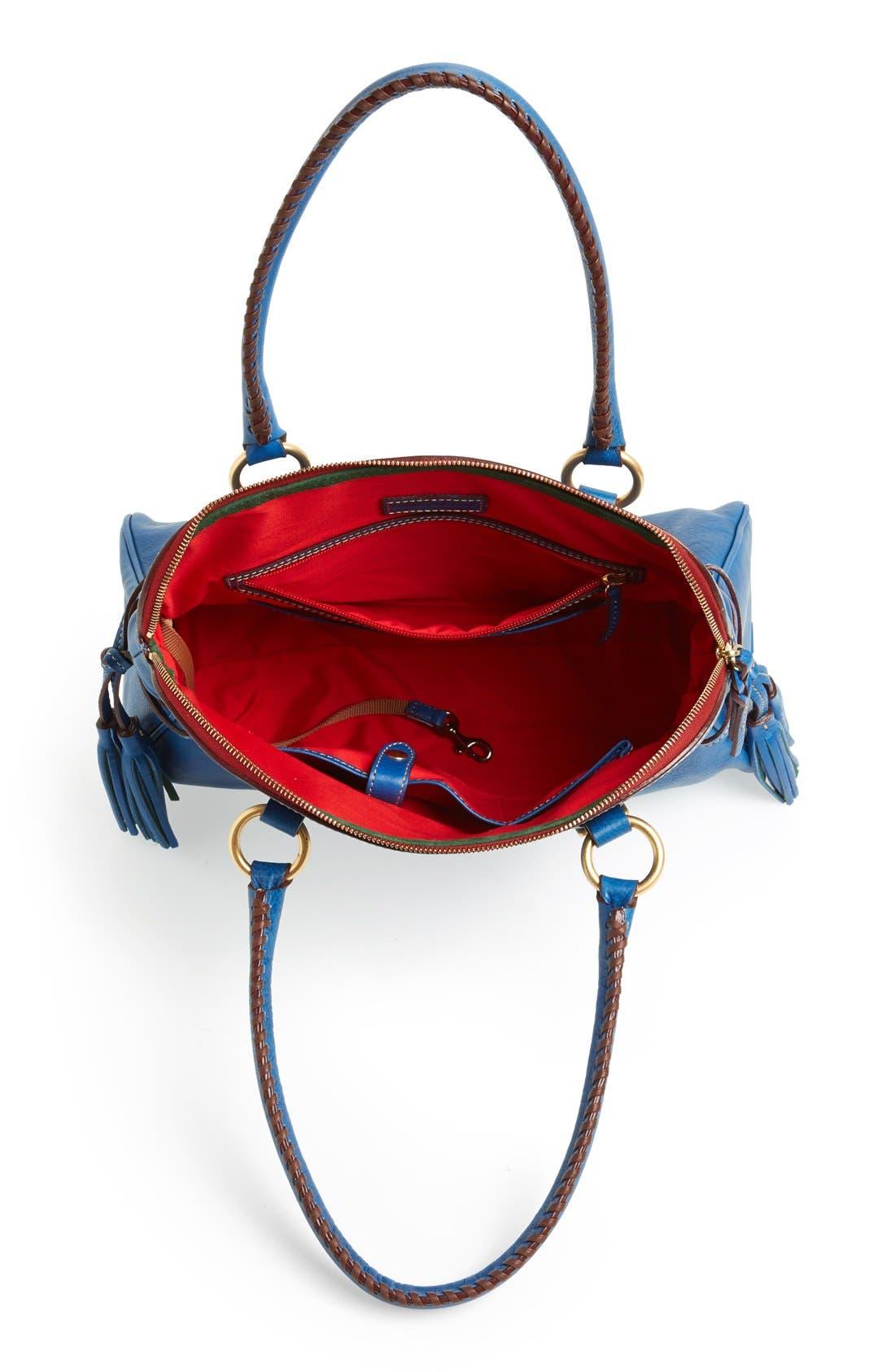 Alternate Image 4  - Dooney & Bourke 'Florentine Collection' Domed Leather Buckle Satchel