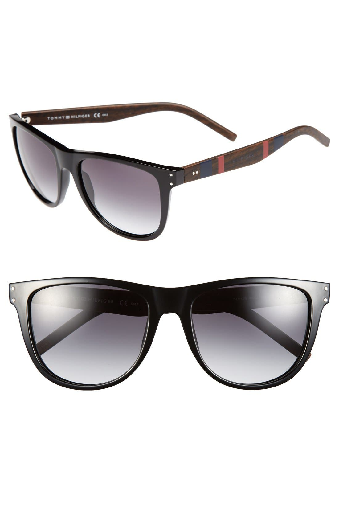 Main Image - Tommy Hilfiger 60mm Aviator Sunglasses