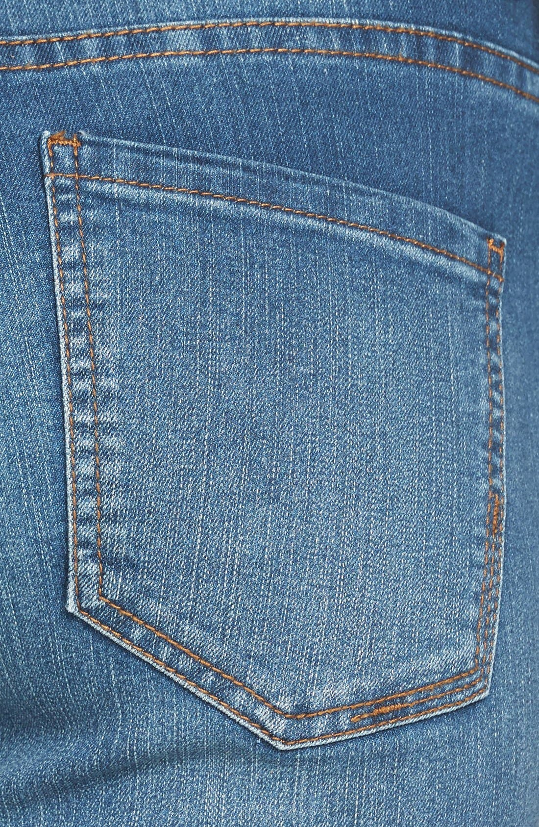 Alternate Image 3  - Liverpool Jeans Company 'Michelle' Cuffed Stretch Capri Jeans