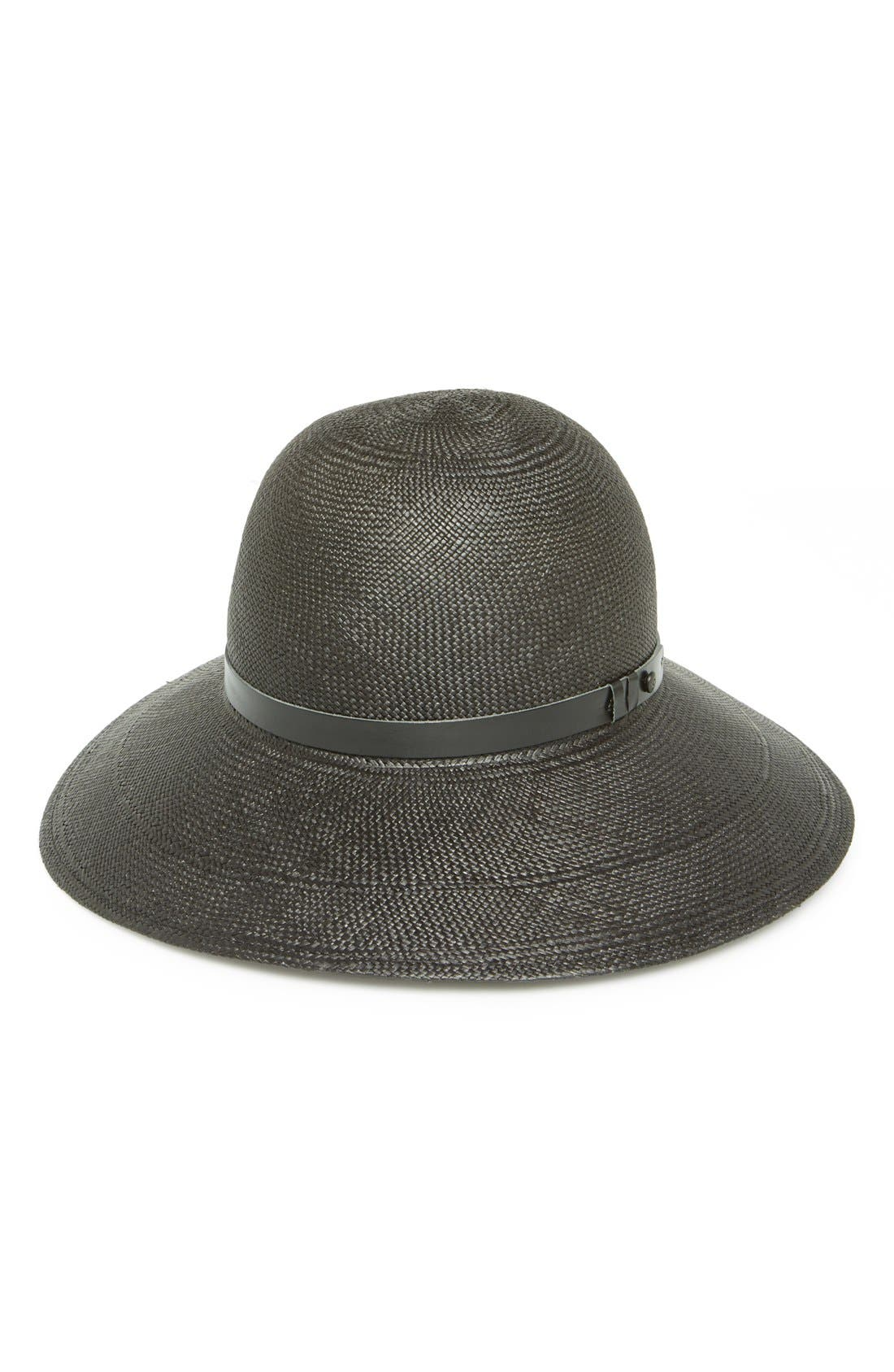 Alternate Image 2  - rag & bone 'Beach' Wide Brim Straw Hat