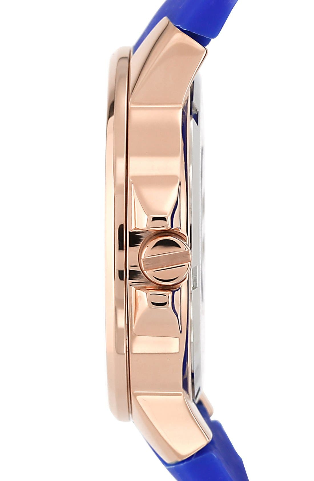 Alternate Image 3  - Vince Camuto Round Silicone Strap Watch, 38mm