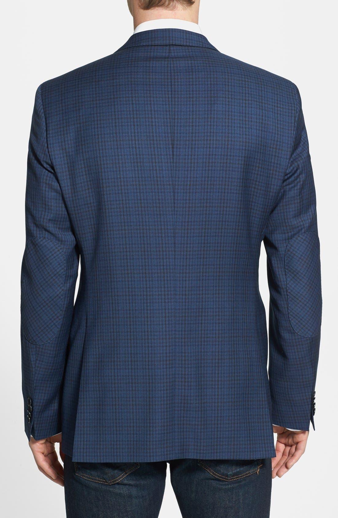 Alternate Image 2  - BOSS HUGO BOSS Classic Fit Plaid Sport Coat