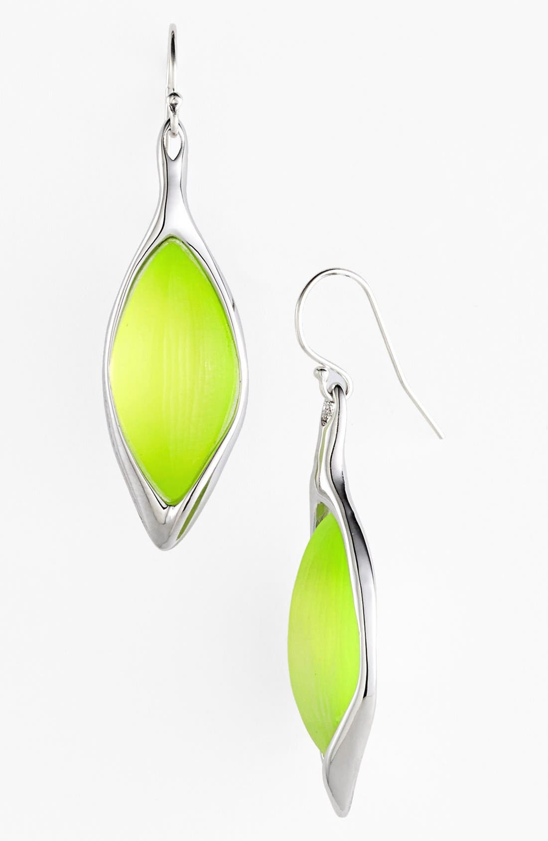 Alternate Image 1 Selected - Alexis Bittar 'Lucite® - Neon Deco' Drop Earrings