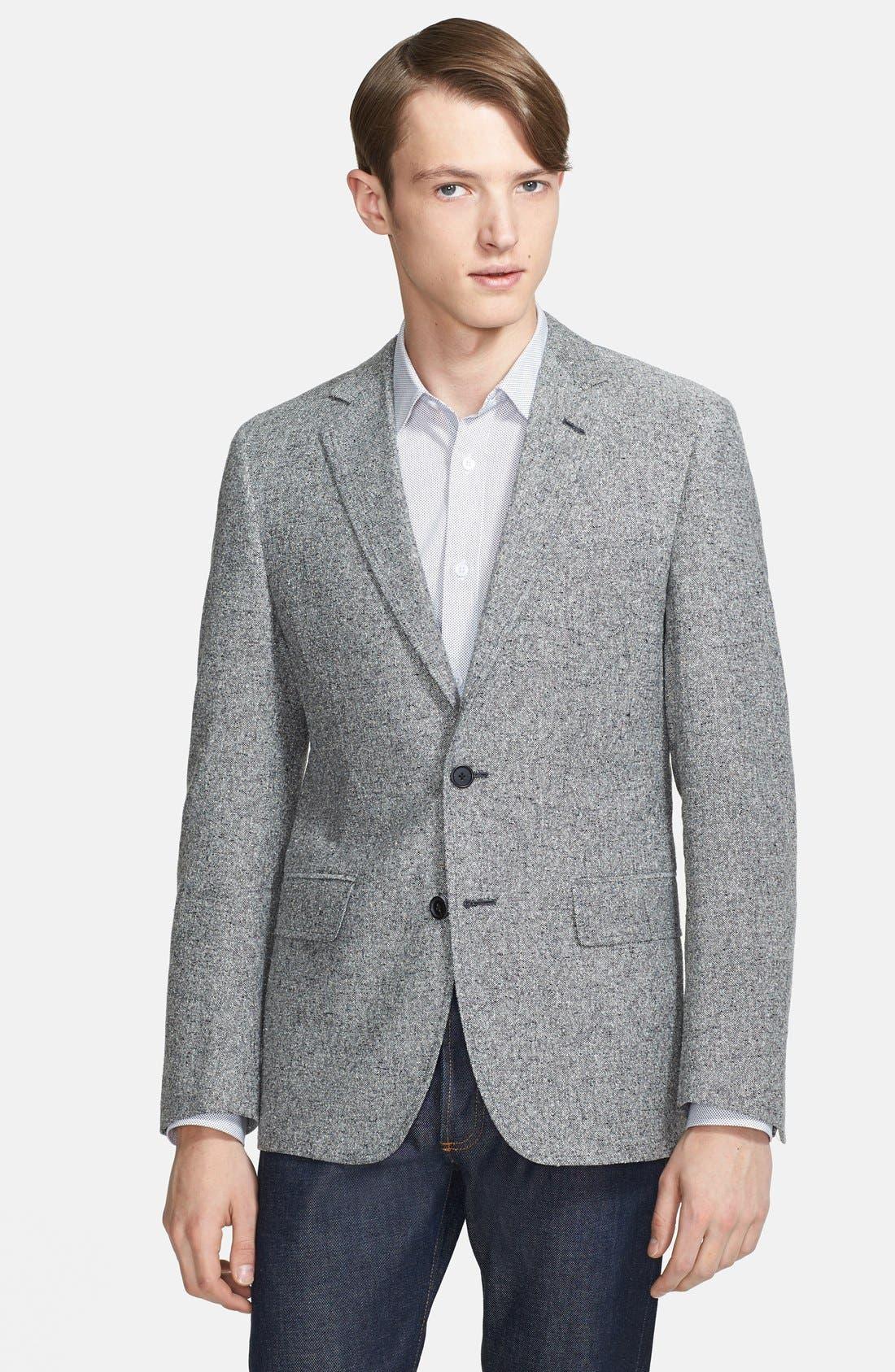 Alternate Image 1 Selected - Billy Reid Unstructured Silk & Linen Sportcoat