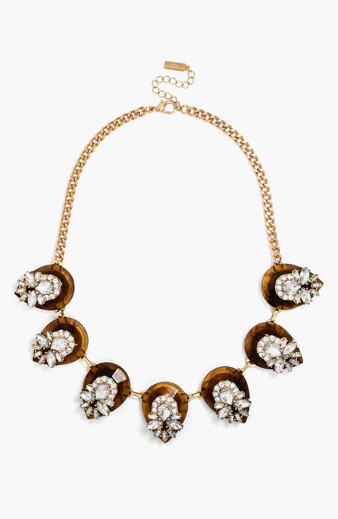 Alternate Image 1 Selected - BaubleBar 'Clear Elizabeth' Collar Necklace
