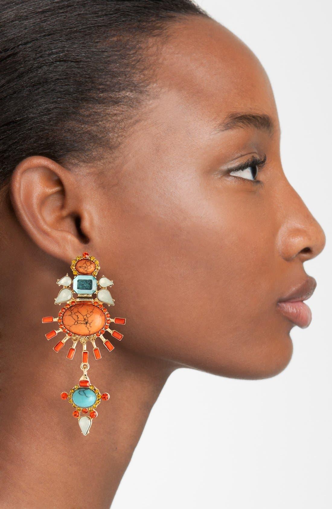 Alternate Image 2  - Guinevere Pendant Earrings