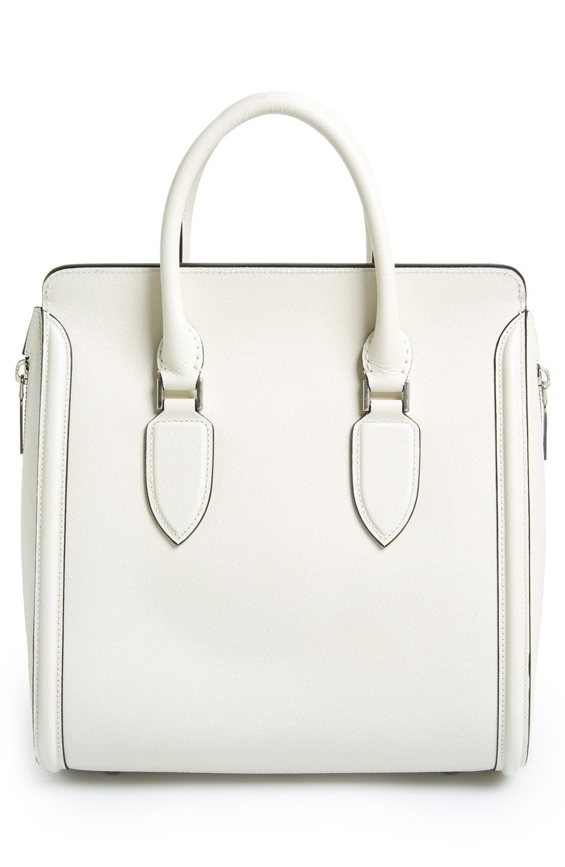 Alternate Image 3  - Alexander McQueen 'Medium Heroine' Calfskin Leather Satchel