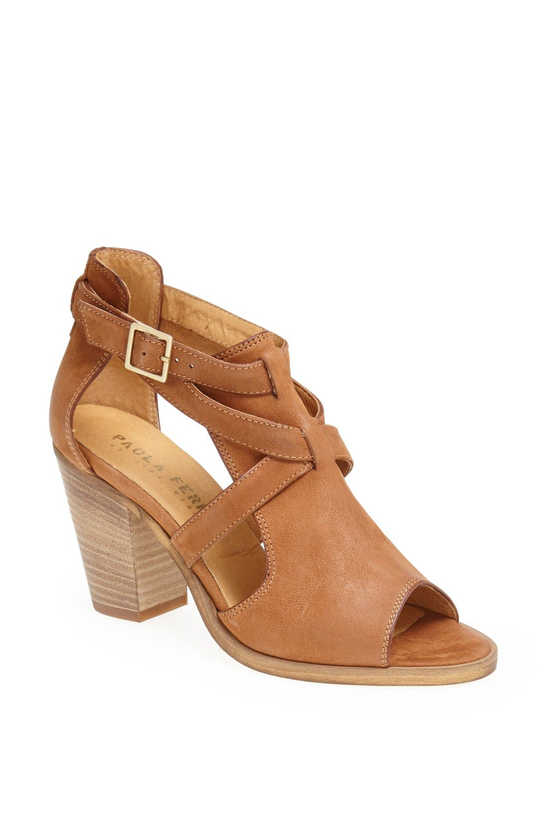 Alternate Image 1 Selected - Paola Ferri Leather Sandal