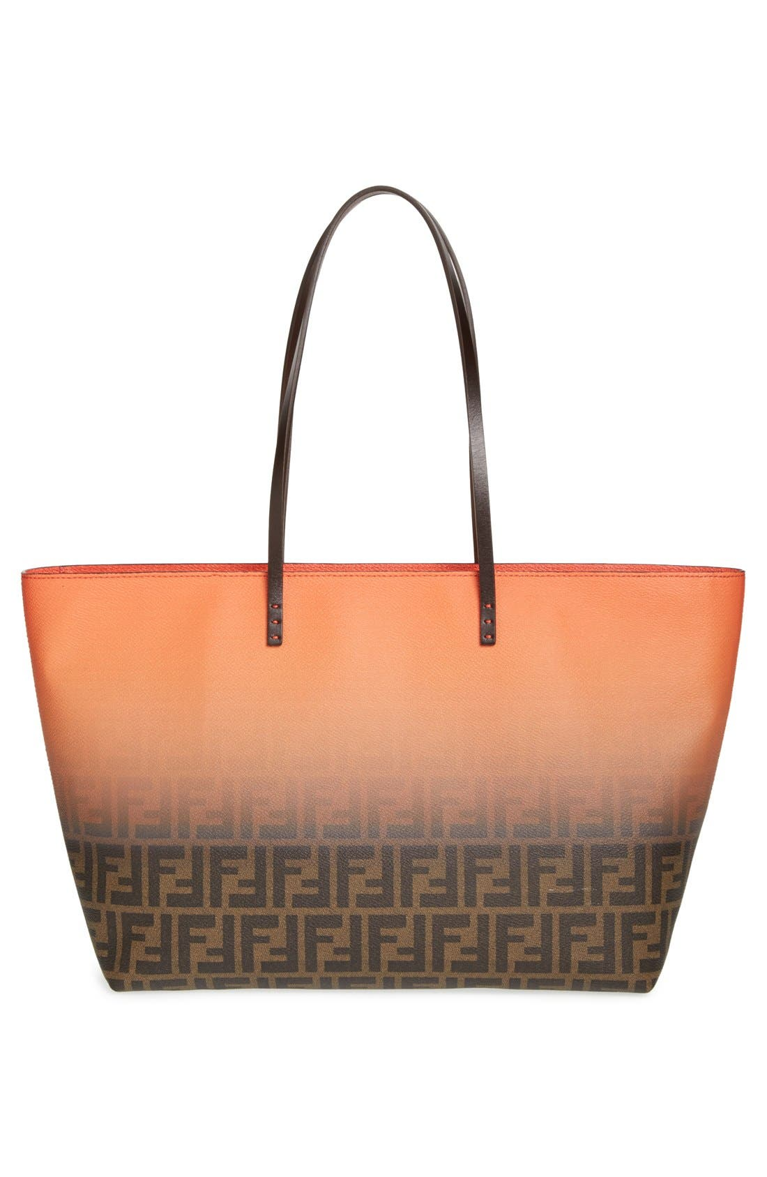 Alternate Image 4  - Fendi 'Ombré Zucca' Coated Fabric Tote