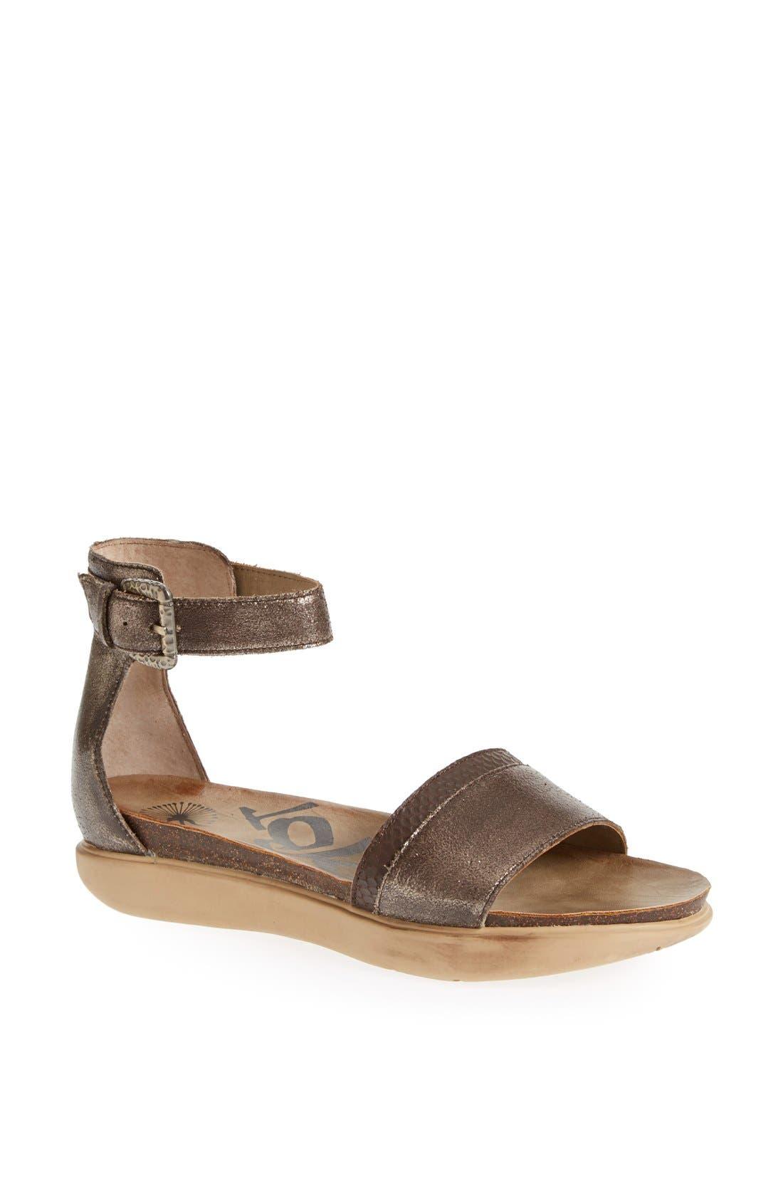 Alternate Image 1 Selected - OTBT 'Martha' Ankle Strap Sandal (Women)