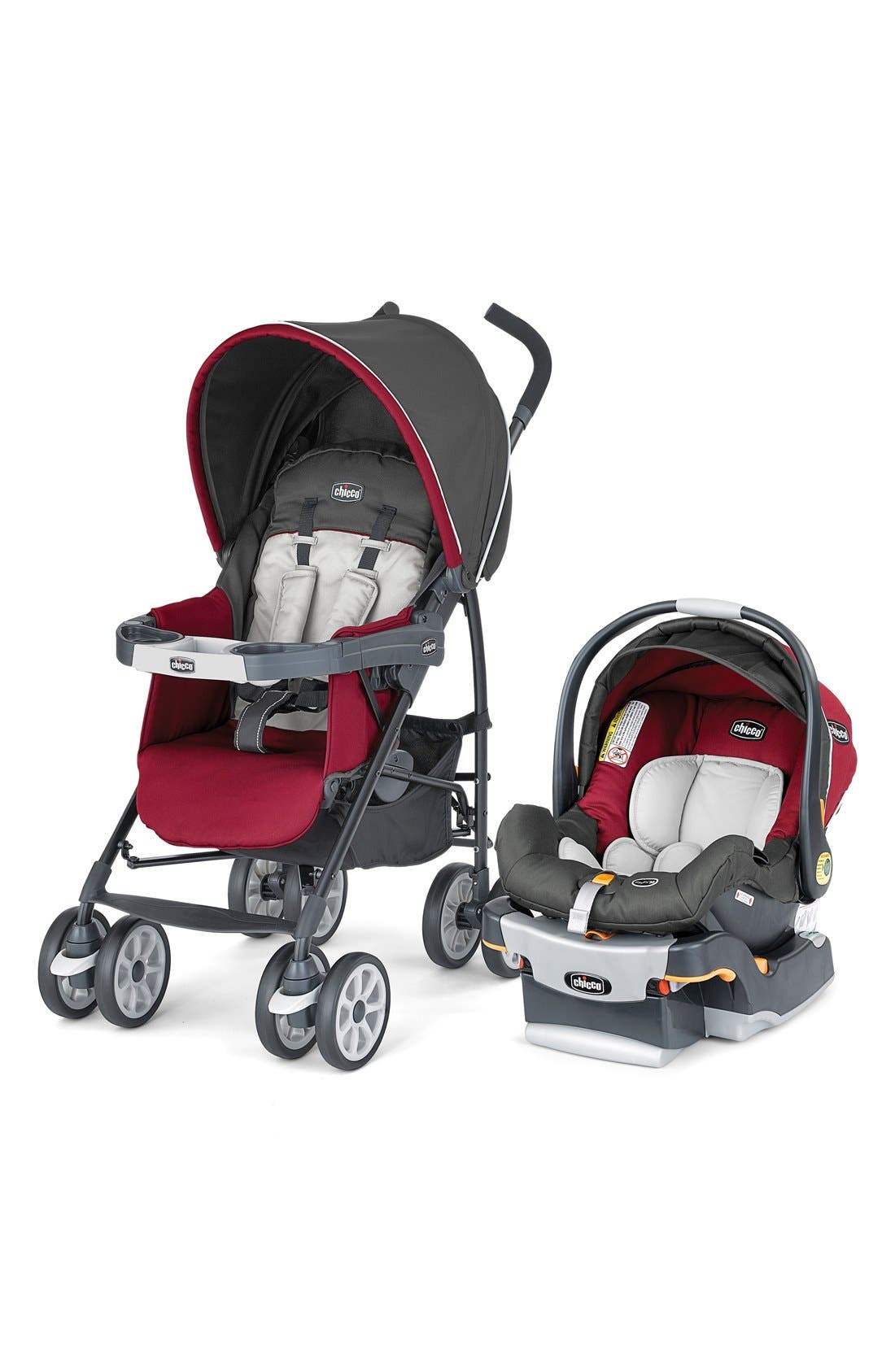 Alternate Image 1 Selected - Chicco 'Neuvo™ Travel System' Car Seat & Stroller
