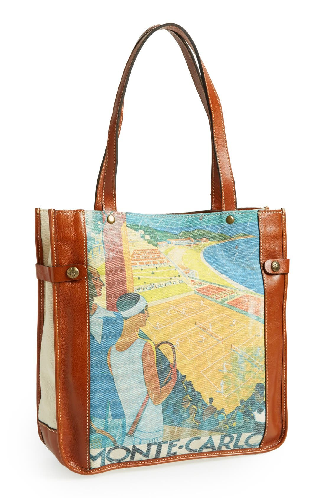 Alternate Image 1 Selected - Patricia Nash Canvas Travel Tote