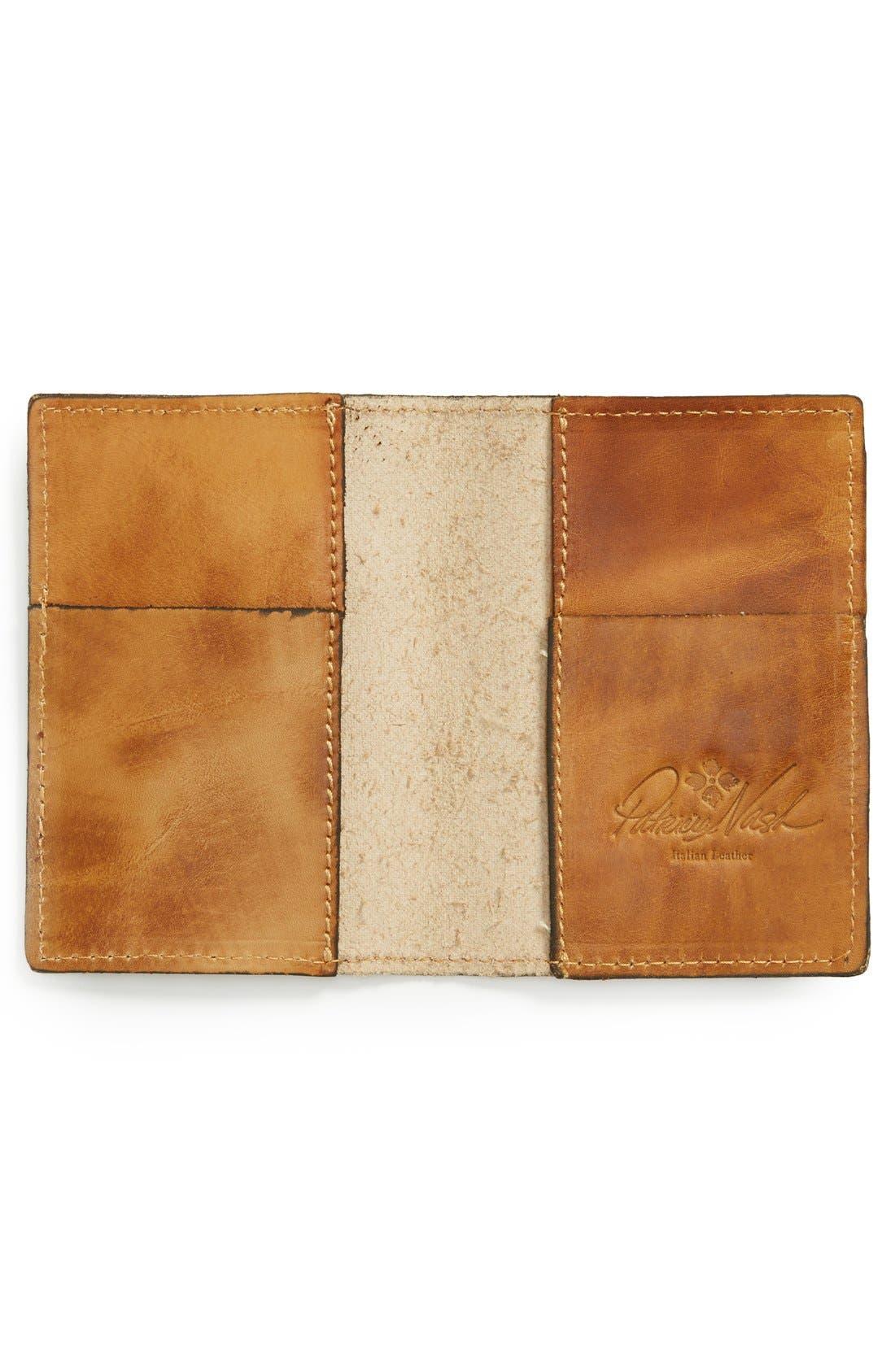 Alternate Image 2  - Patricia Nash Map Print Leather Passport Holder