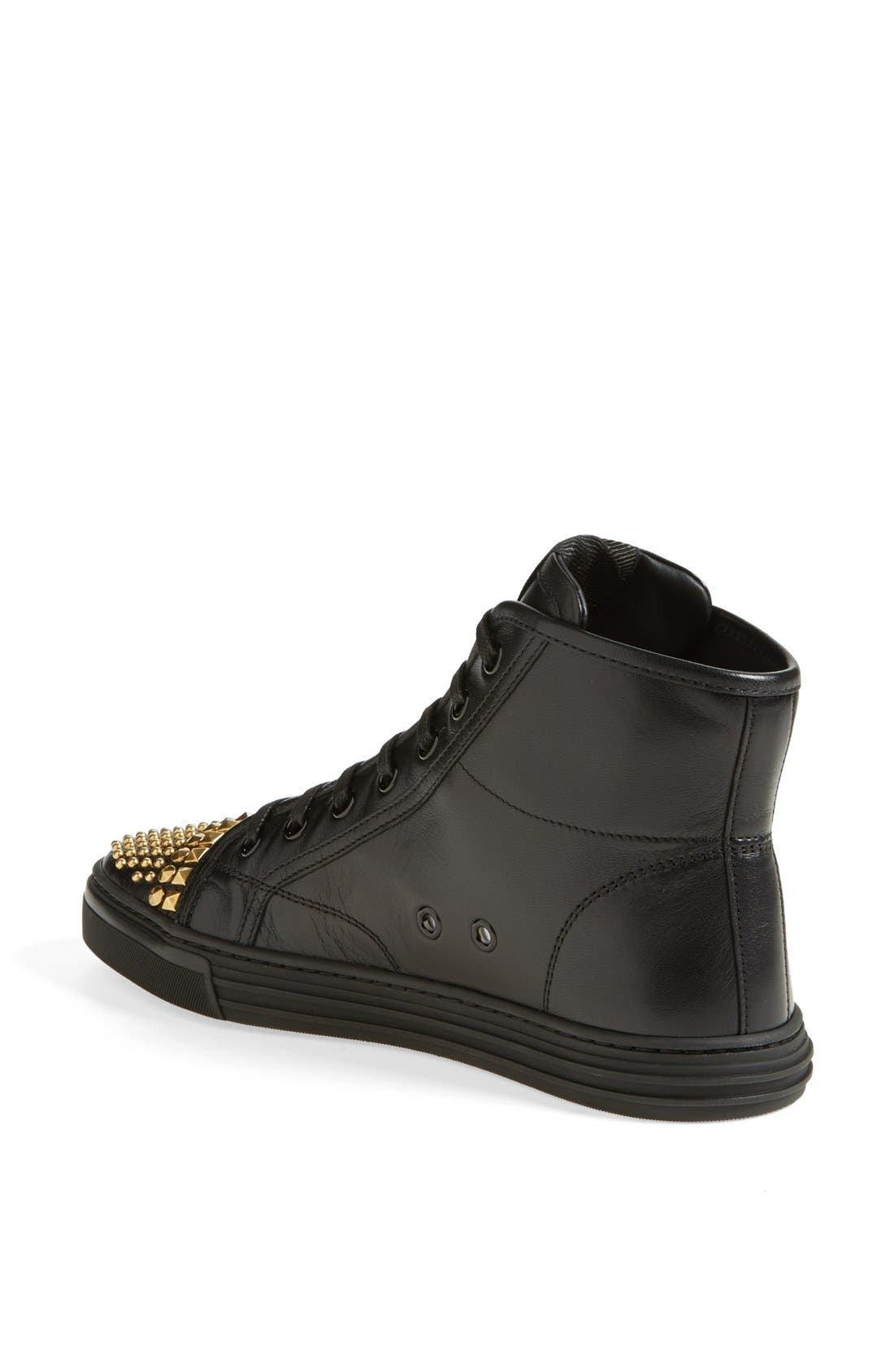 Alternate Image 2  - Gucci 'California' Studded Sneaker (Women)