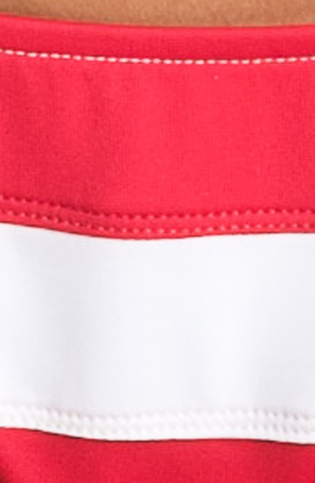 Alternate Image 5  - Ralph Lauren Stripe Side Tie Bikini Bottoms