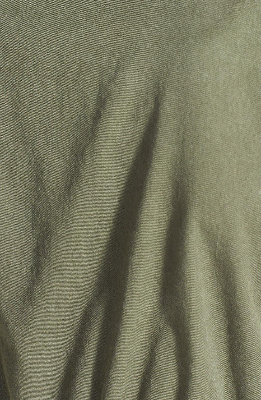 Alternate Image 3  - Velvet by Graham & Spencer Cargo Twill Vest
