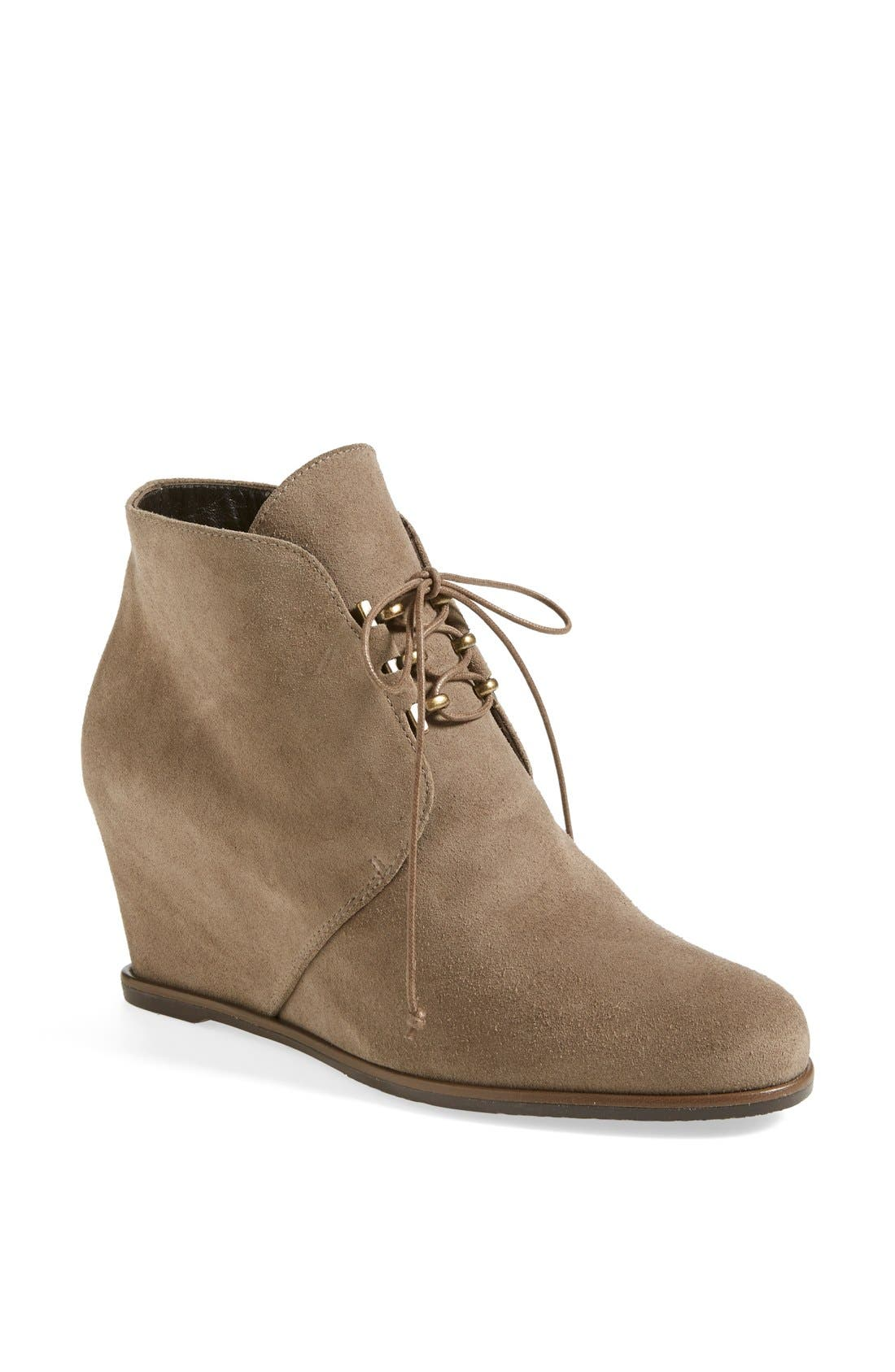 Alternate Image 1 Selected - Stuart Weitzman 'Comfort' Wedge Boot (Nordstrom Exclusive) (Women)
