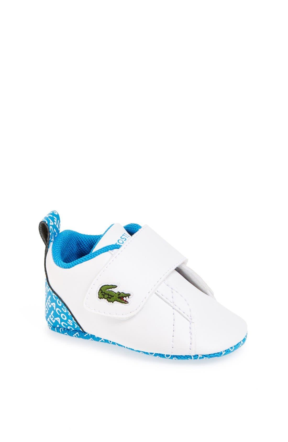 Alternate Image 1 Selected - Lacoste 'Paris Babe' Crib Shoe (Baby)