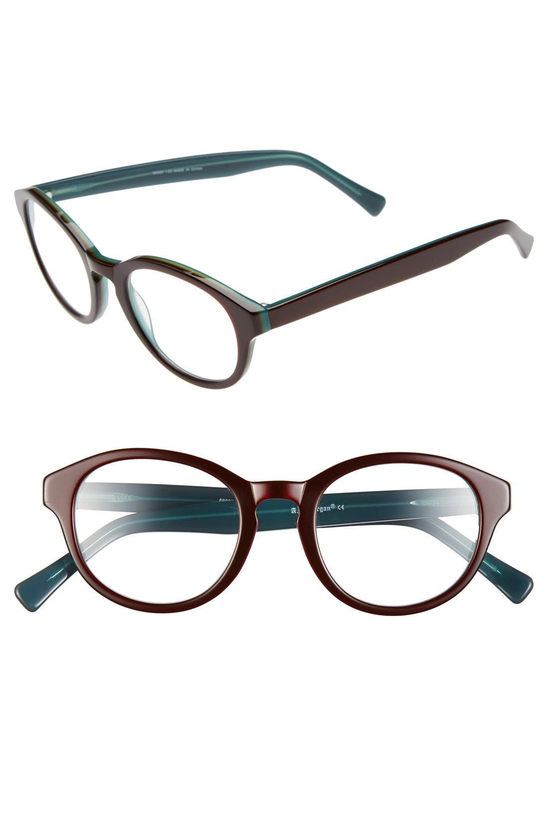 Alternate Image 1 Selected - A.J. Morgan 'Ohm' 58mm Reading Glasses