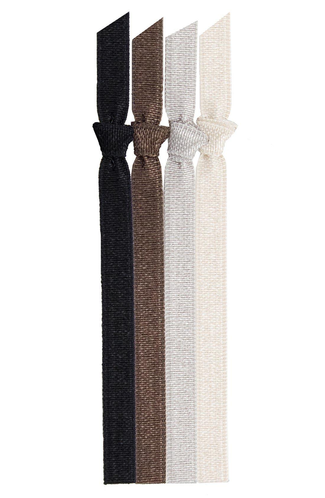 Alternate Image 1 Selected - Emi-Jay 'Classic' Skinny Hair Ties (4-Pack) (Buy 2, Get 1)