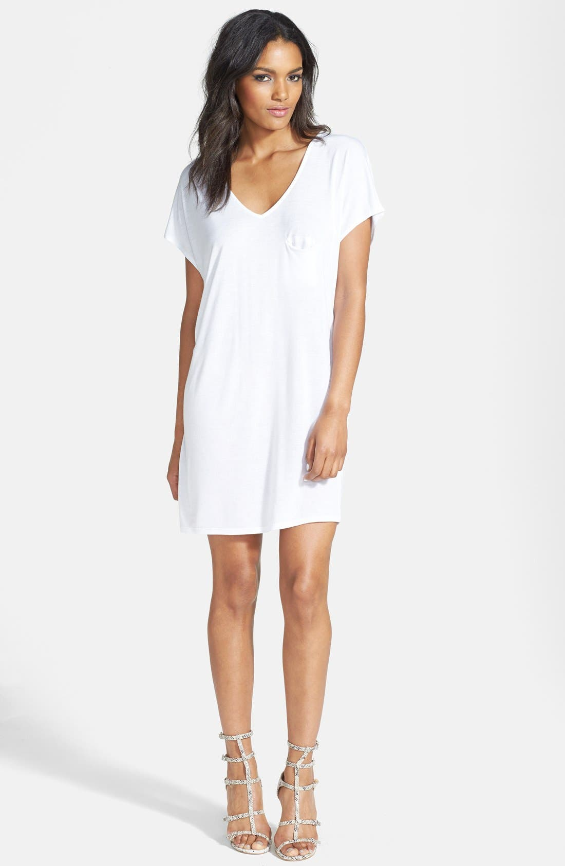 Main Image - Leith Oversized T-Shirt Dress