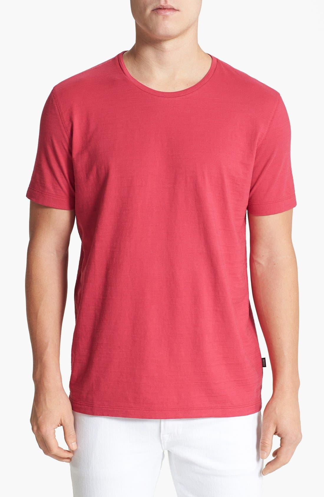 Main Image - BOSS HUGO BOSS 'Terni 103' Regular Fit Crewneck T-Shirt