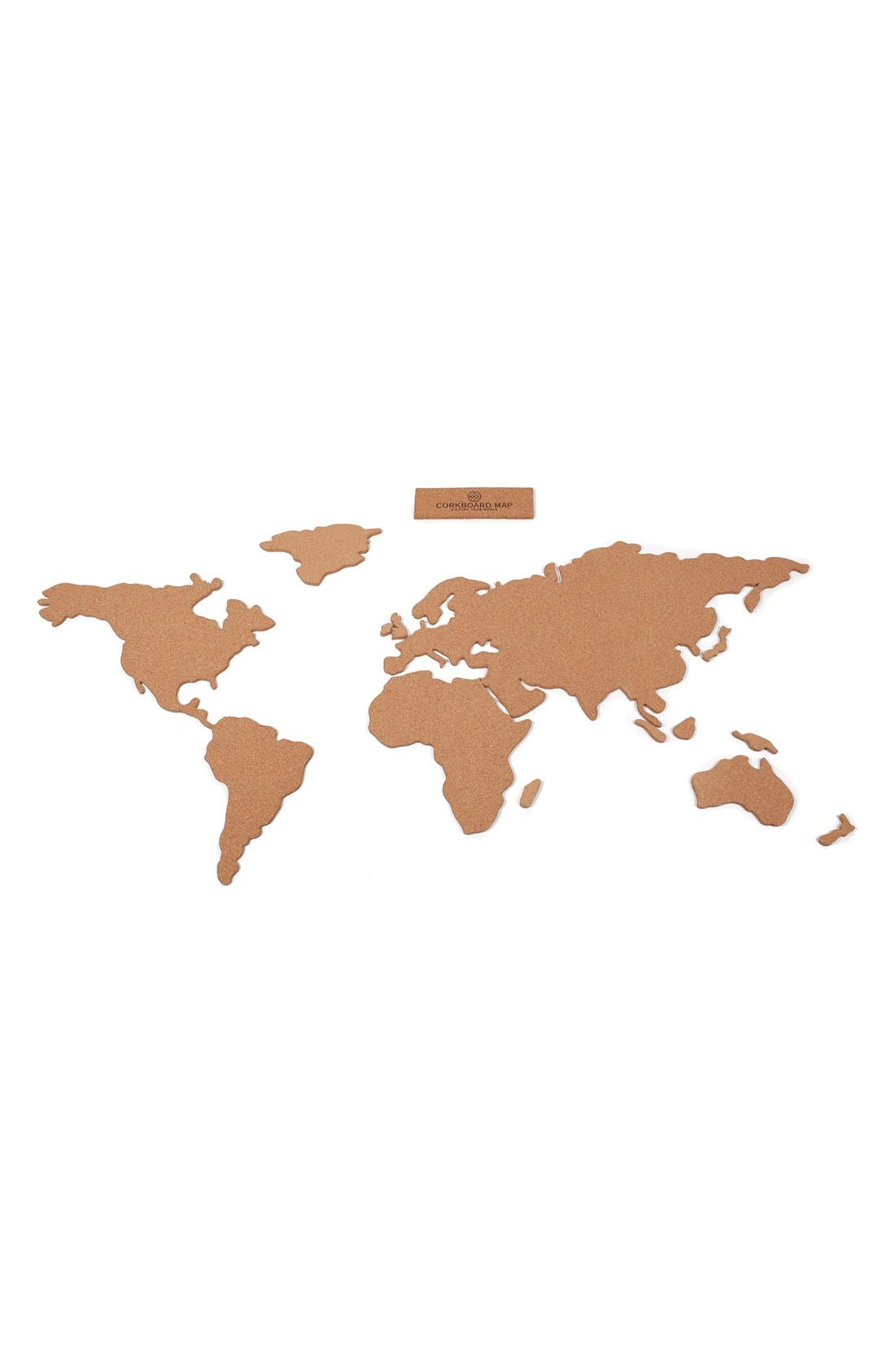 Main Image - Luckies of London Cork Board Map
