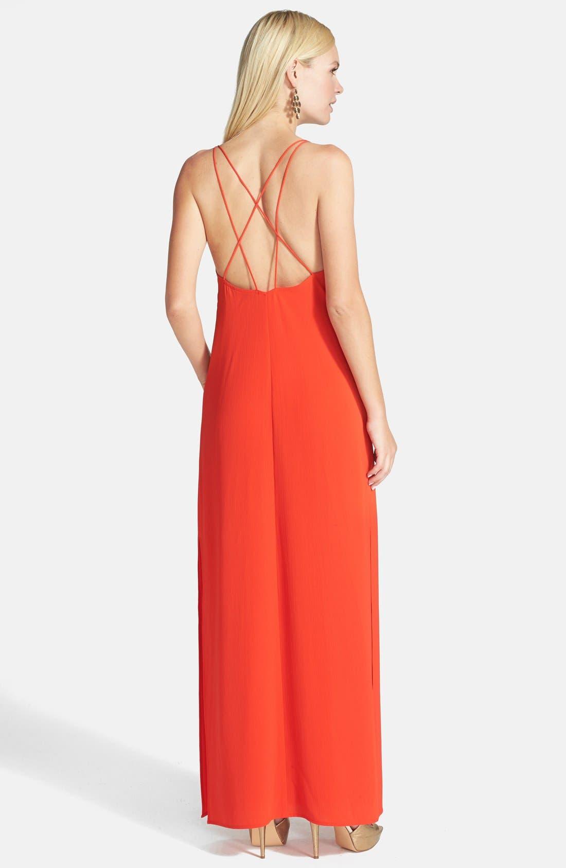 Alternate Image 2  - Tildon Strap Detail Maxi Dress