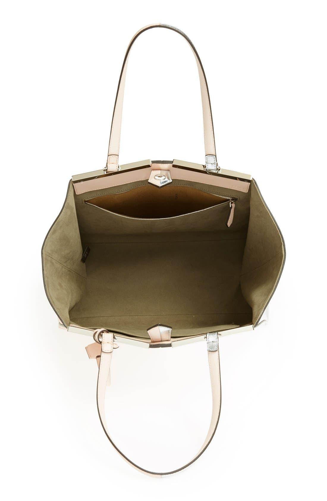 Alternate Image 3  - Fendi '3Jours' Bicolor Leather Shopper