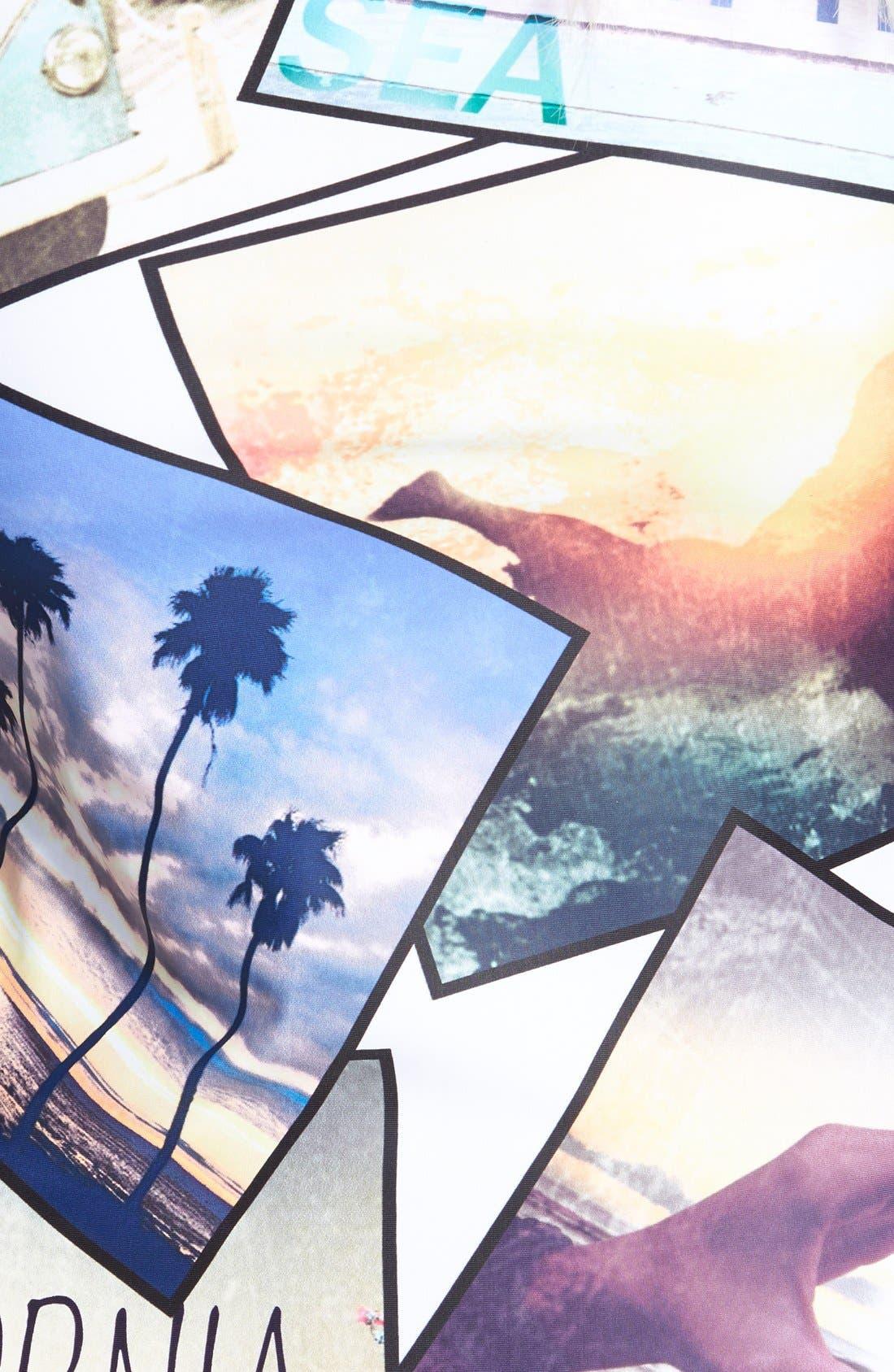 Alternate Image 3  - W Swimwear 'California Love' Rashguard