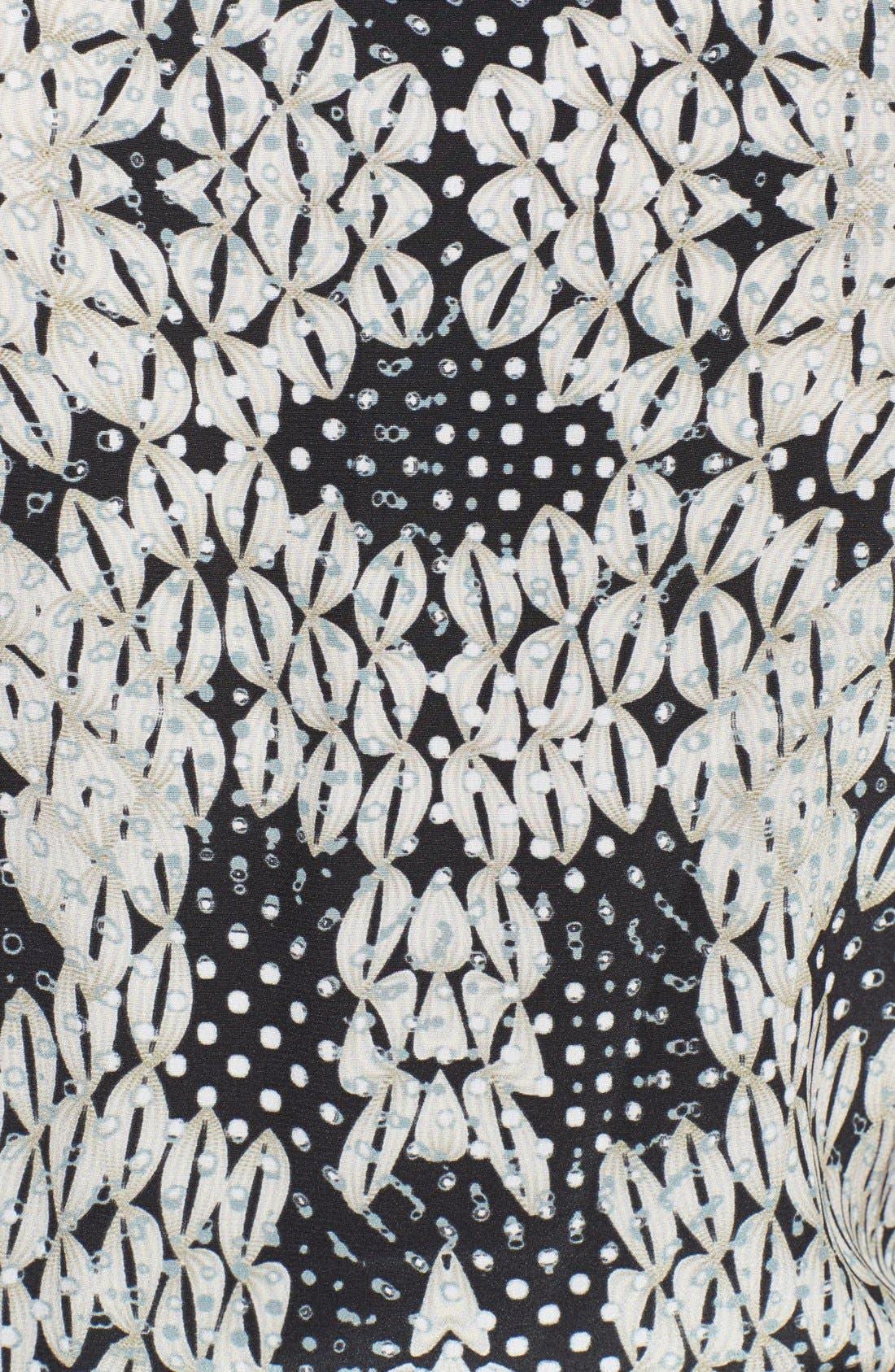 Alternate Image 3  - Diane von Furstenberg 'Shany' Print Silk Jumpsuit