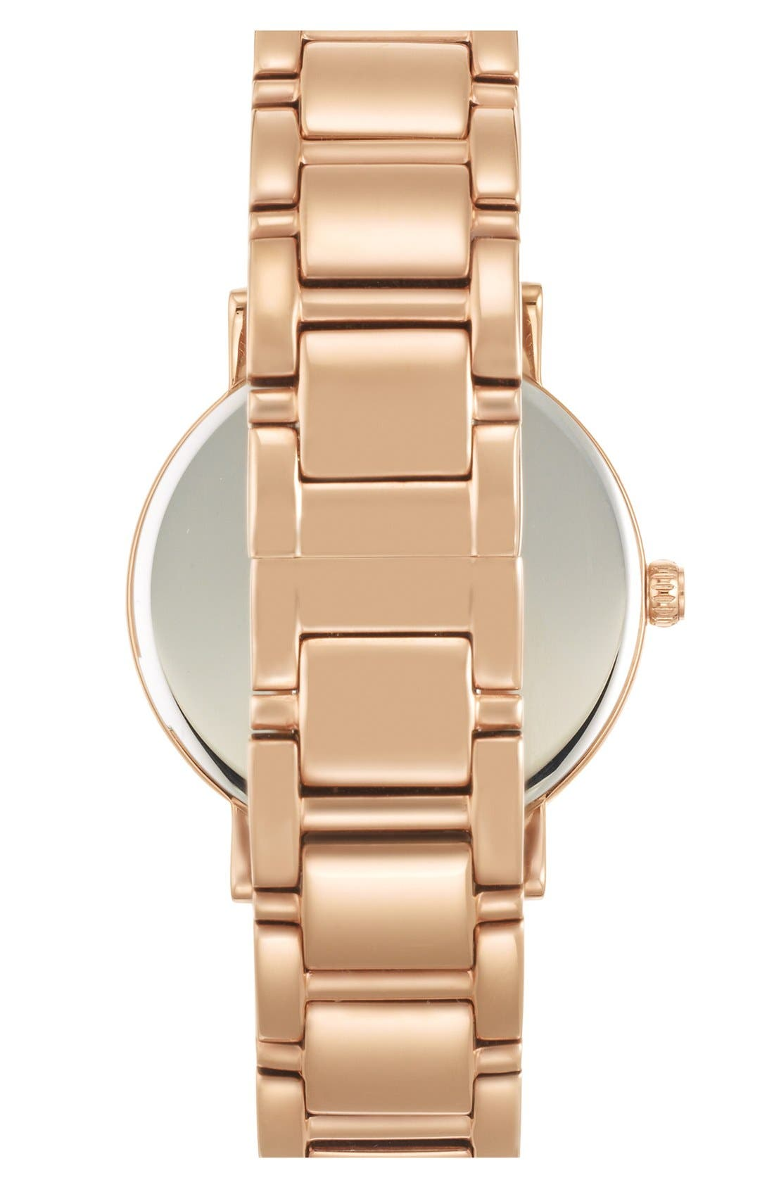 Alternate Image 2  - kate spade new york 'gramercy' multifunction bracelet watch, 34mm