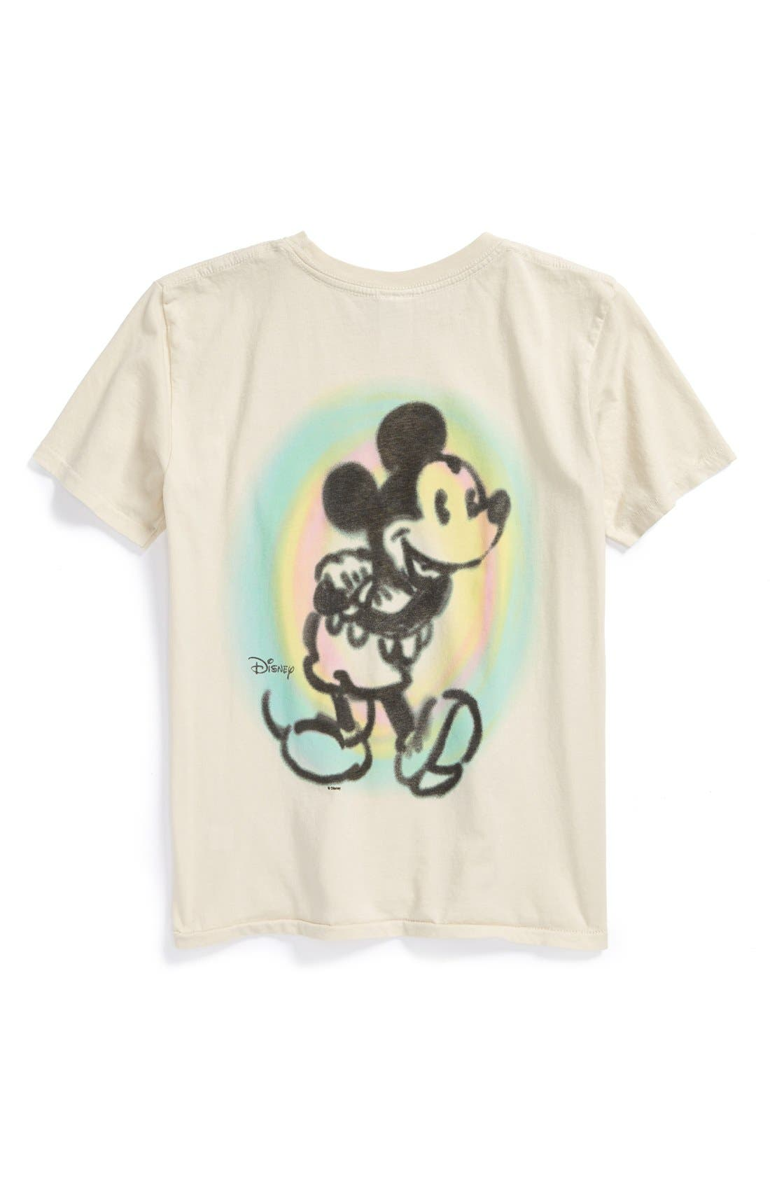 Alternate Image 2  - Junk Food 'Mickey Mouse™' T-Shirt (Toddler Boys)