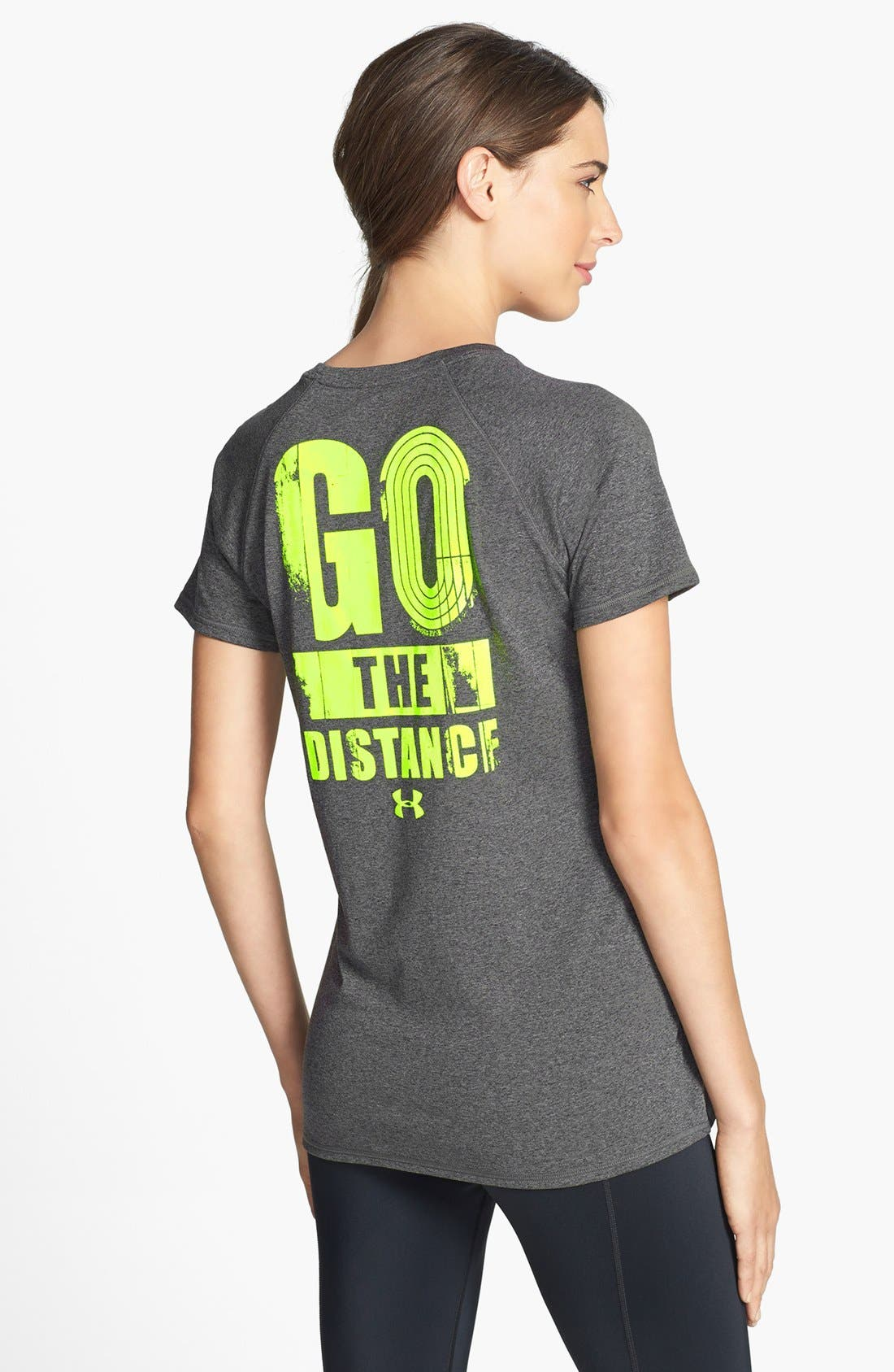 Alternate Image 2  - Under Armour 'Go the Distance' Tee