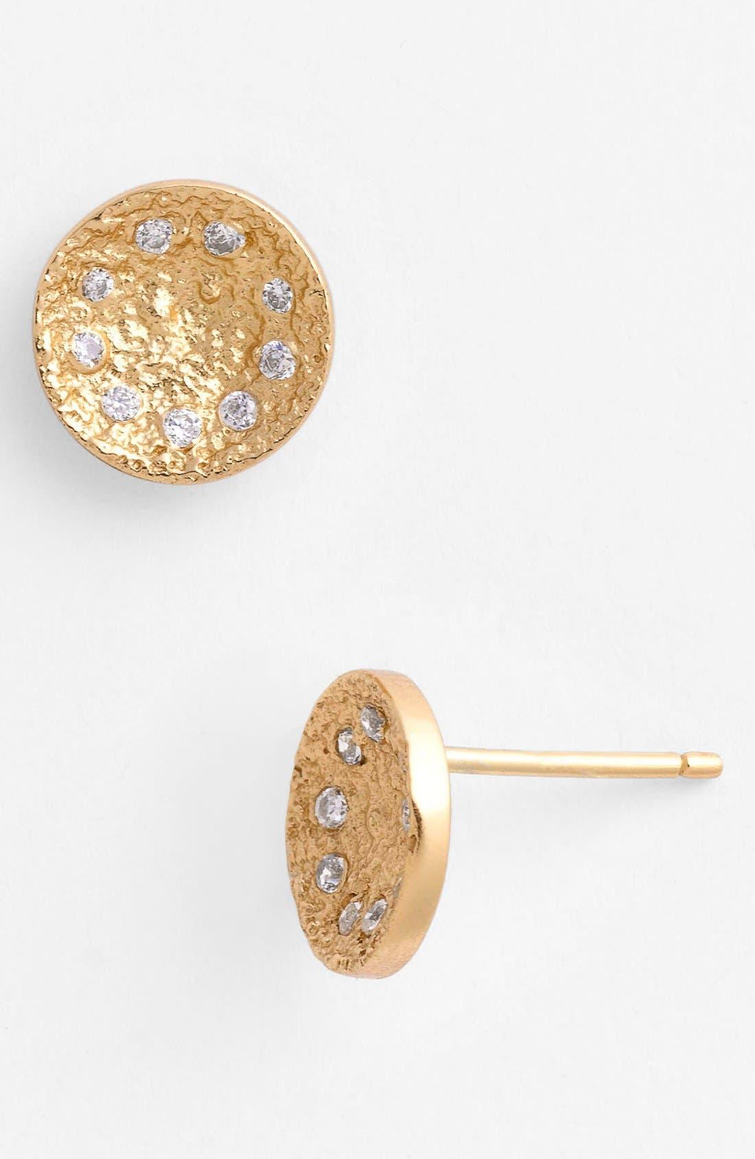 Alternate Image 1 Selected - Melinda Maria 'Mini Nelly' Pod Stud Earrings