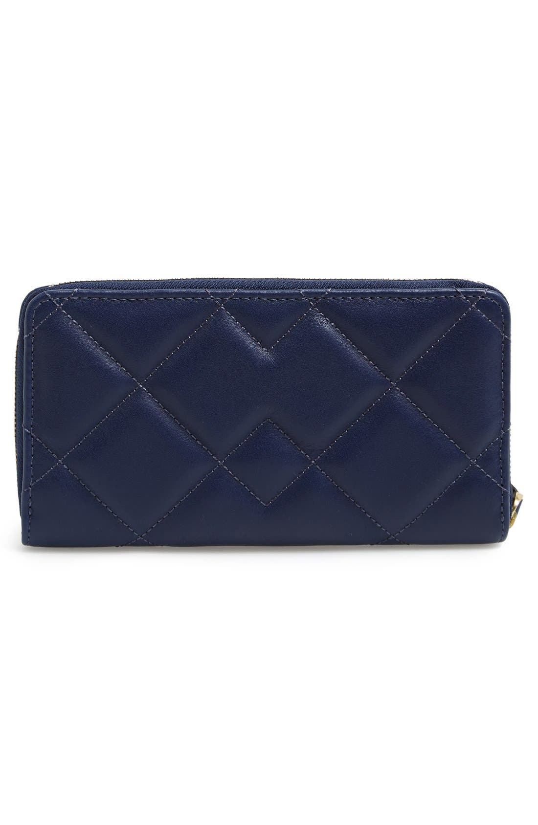 Alternate Image 3  - MARC BY MARC JACOBS 'Quilty Vertical Zippy' Leather Wallet