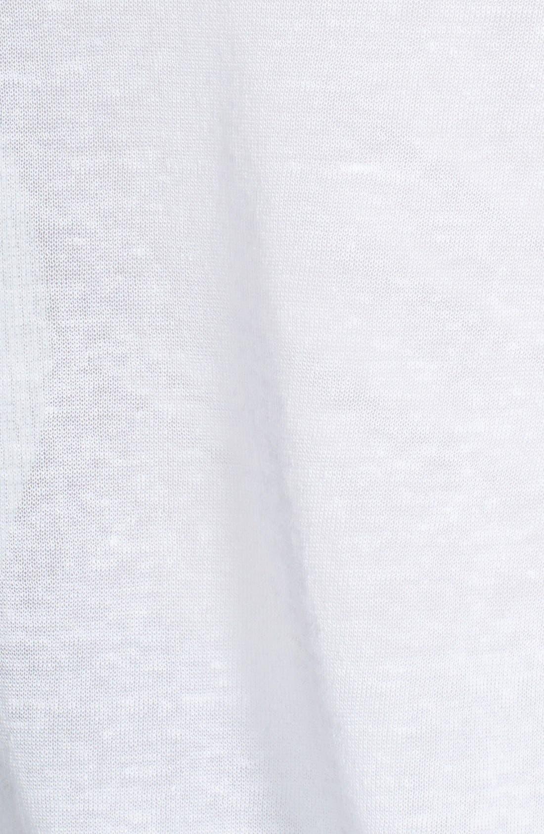 Alternate Image 3  - Eileen Fisher Hemp Blend Bateau Neck Top