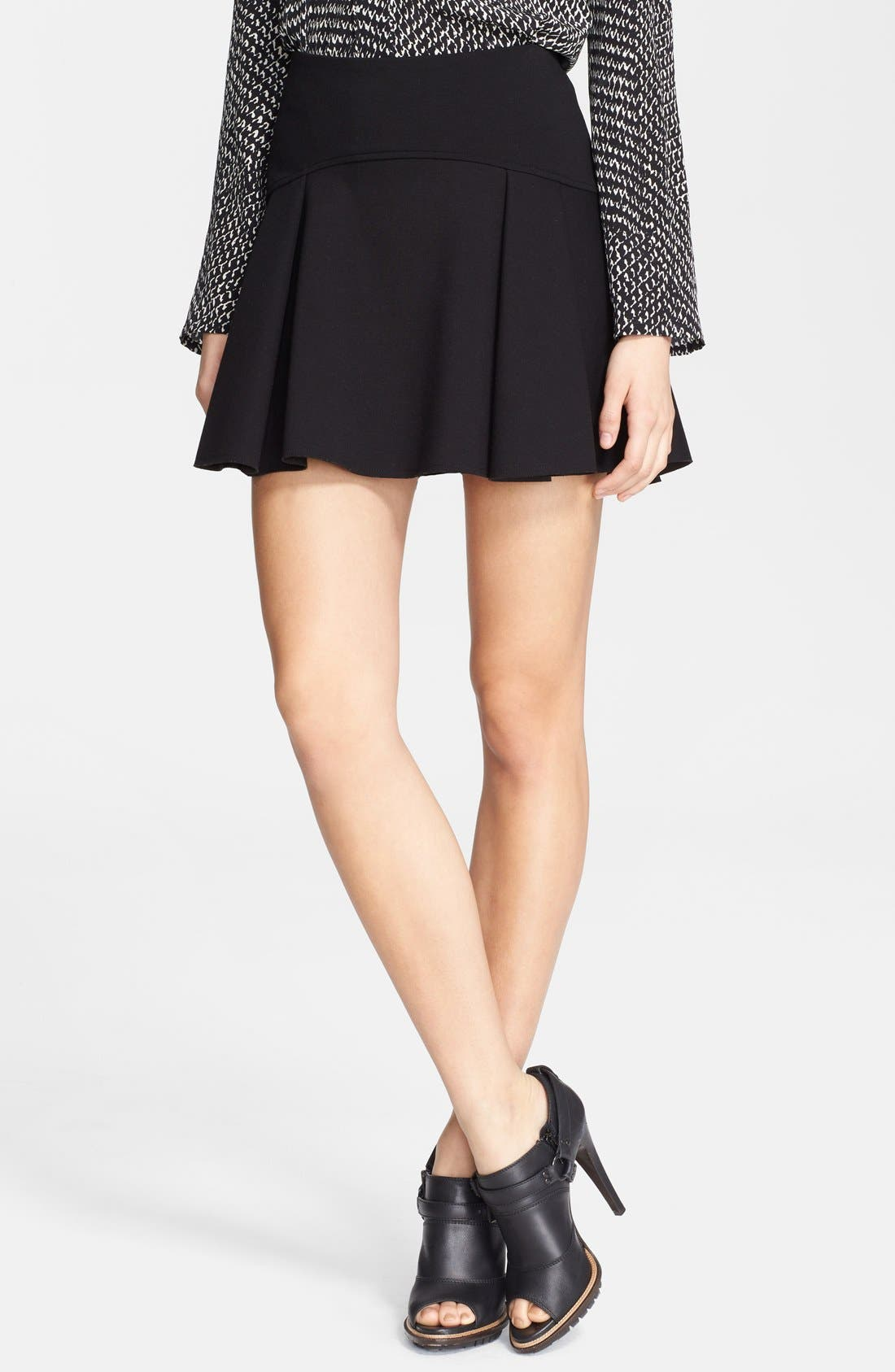 Alternate Image 1 Selected - Belstaff 'Tadley' Flared Jersey Skirt