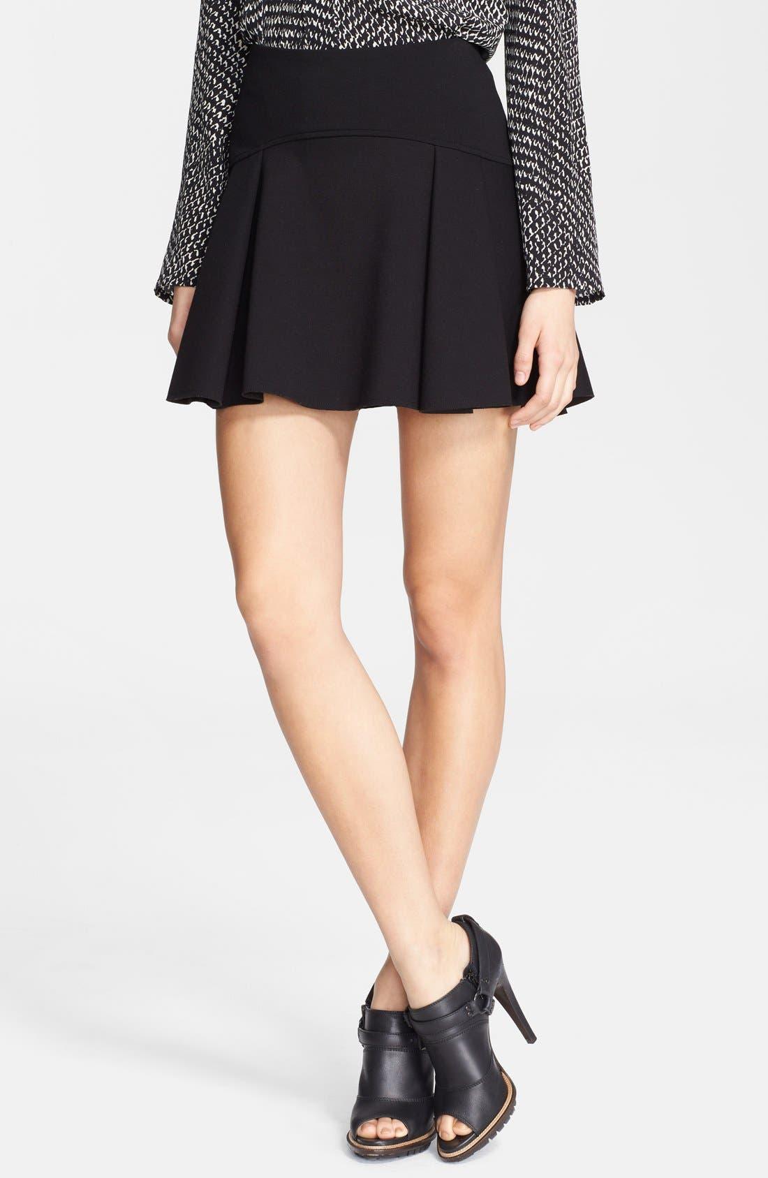 Main Image - Belstaff 'Tadley' Flared Jersey Skirt