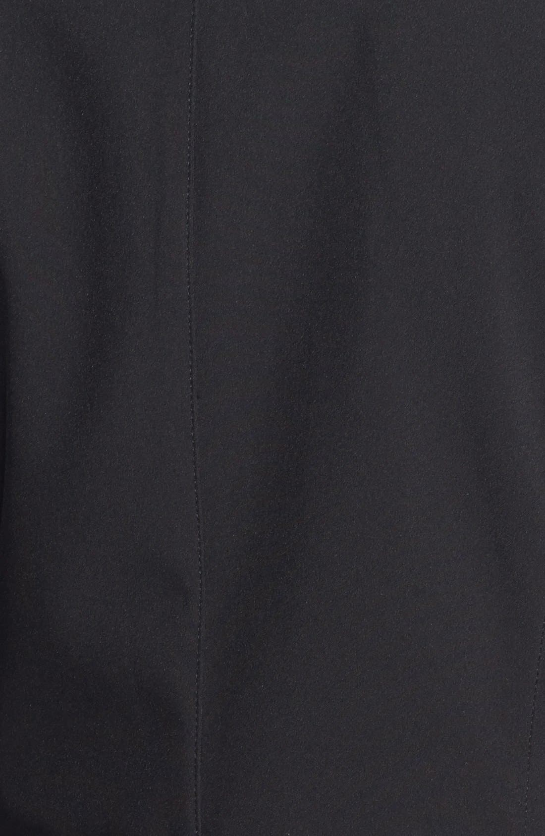 Alternate Image 3  - Via Spiga Soft Shell Anorak with Removable Hood (Online Only)