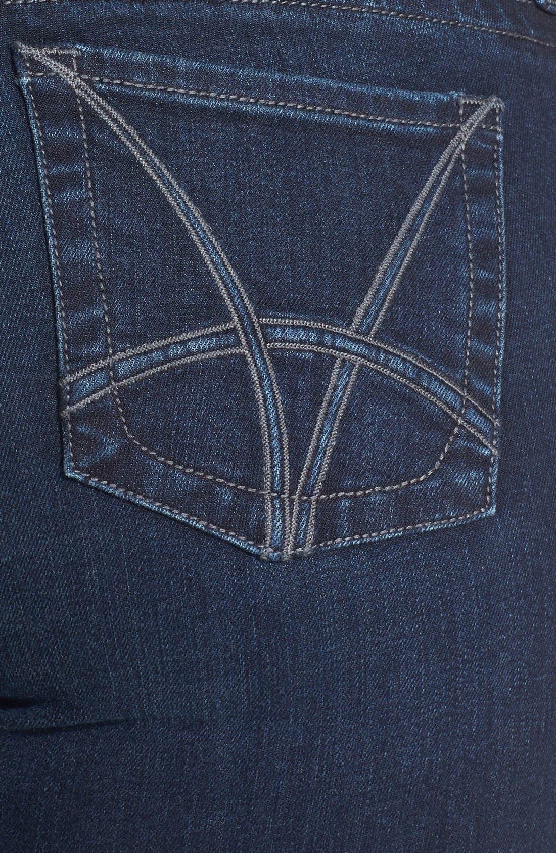 Alternate Image 3  - KUT from the Kloth 'Stevie' Straight Leg Jeans (Progressive) (Plus Size) (Online Only)
