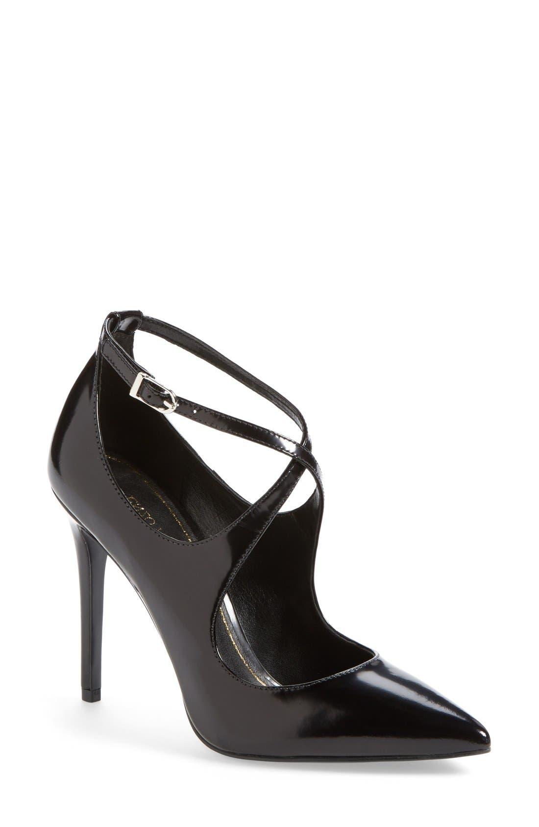 Main Image - Enzo Angiolini 'Finton' Leather Pointy Toe Pump (Women)