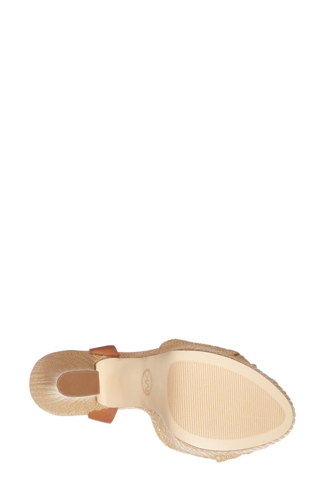 Alternate Image 4  - MICHAEL Michael Kors 'Benji' Platform Sandal