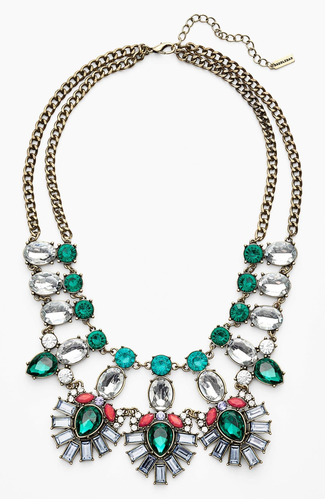 Main Image - BaubleBar 'Drama' Mixed Stone Statement Necklace (Nordstrom Exclusive)