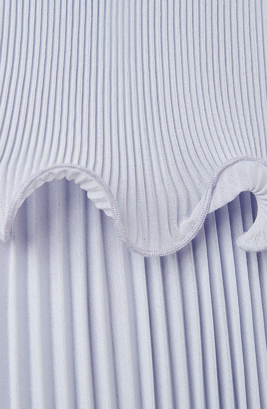 Alternate Image 2  - ERIN erin fetherston 'Mattie' Pleated Chiffon Slip Dress