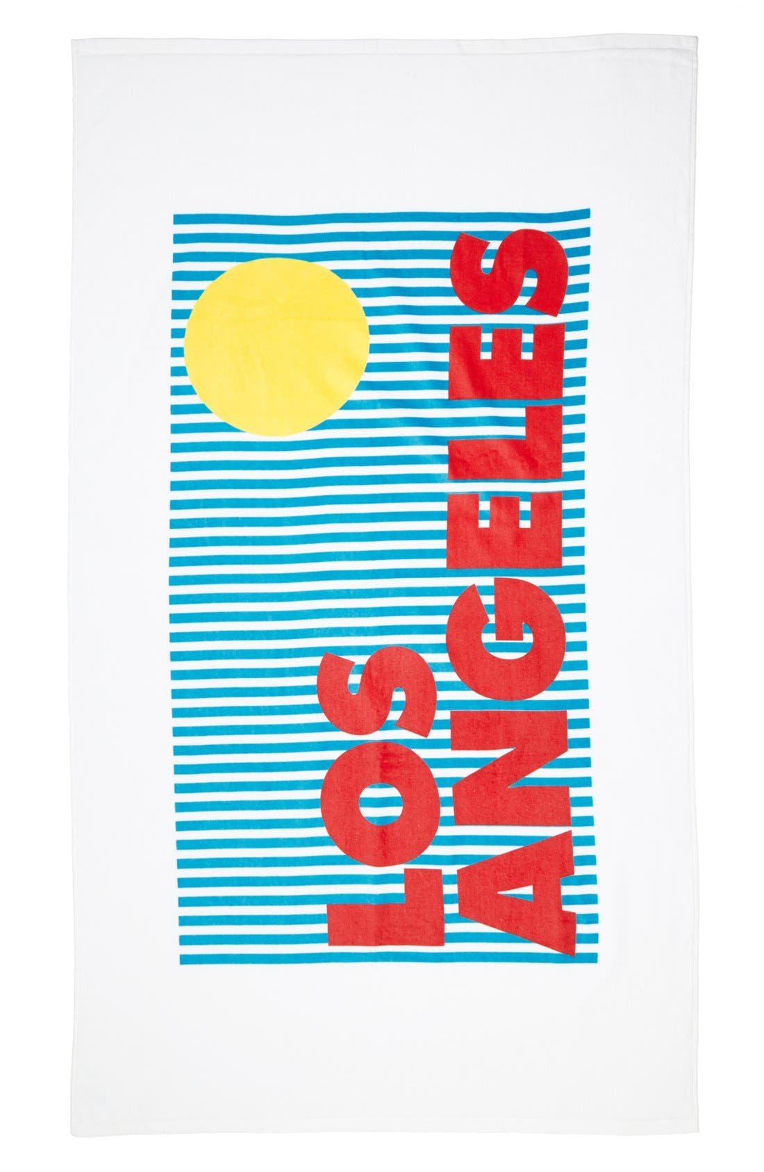 Alternate Image 1 Selected - Sisters of Los Angeles Beach Towel