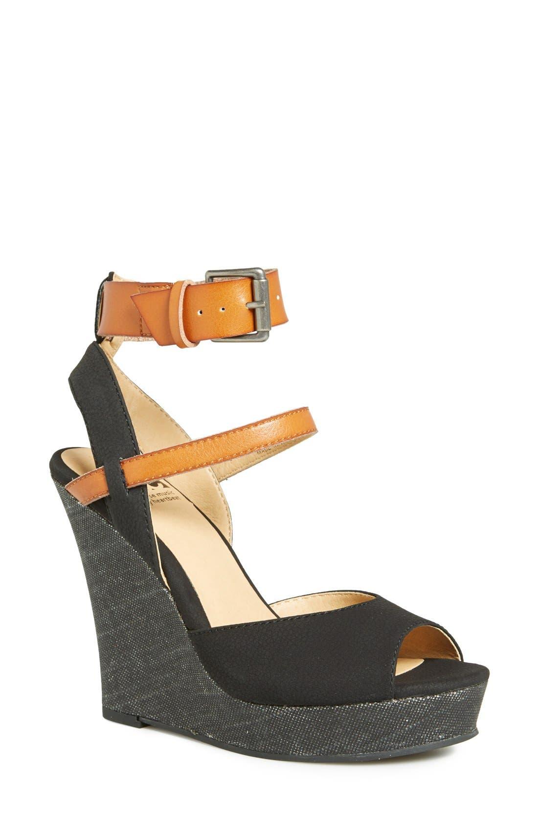 Alternate Image 1 Selected - BC Footwear 'Move It' Wedge Sandal (Women)
